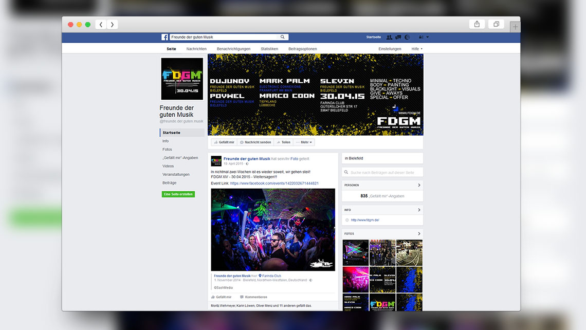 FDGM Facebook - Social Marketing