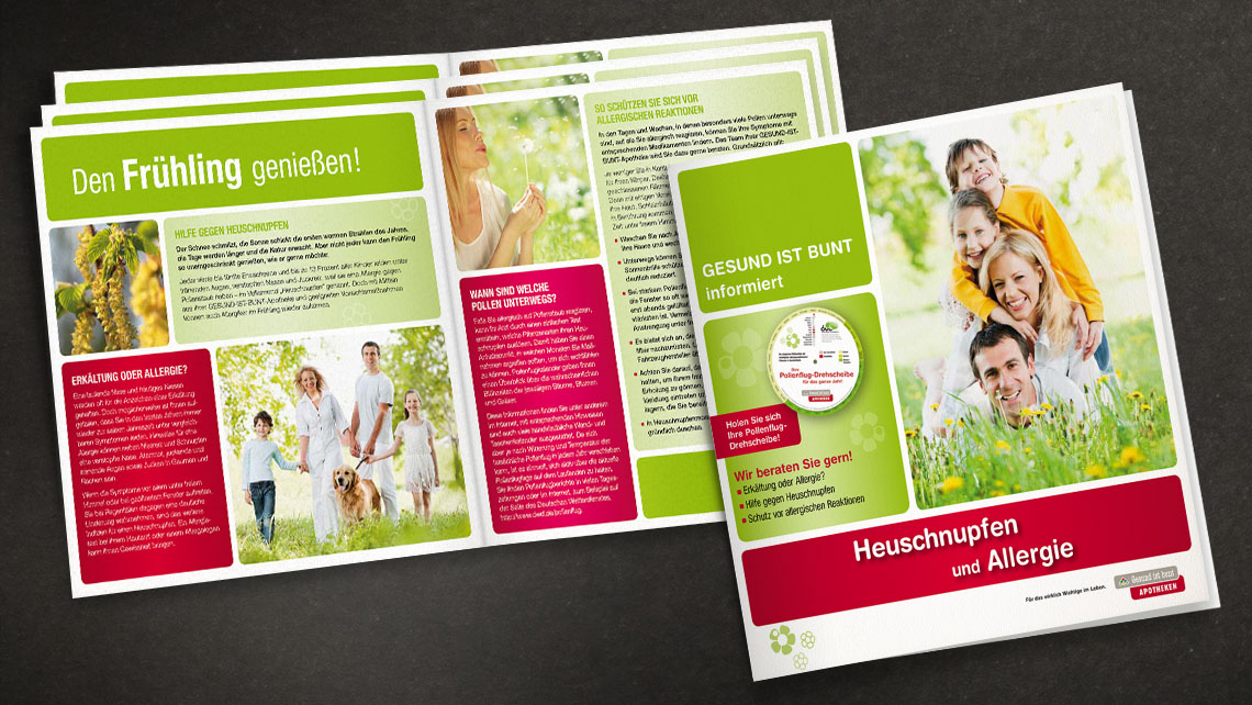 Marketingpaket - Gestaltung Aktionsflyer